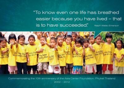 Asia Centre Foundation-Phuket